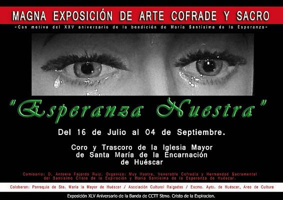 """""""Esperanza Nuestra"""" Exposición de arte sacro y cofrade"""